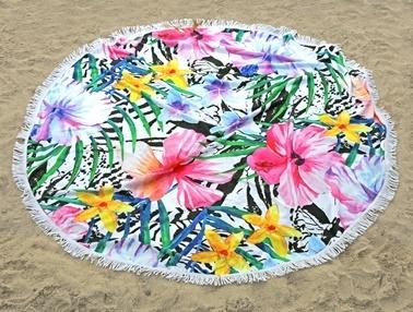 İrya Home More Maldıv Plaj Havlusu Renkli